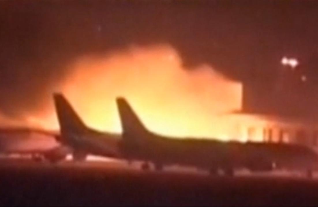 Pakistani Taliban attacked the Jinnah International Airport in Karachi, Pakistan on Sunday night.
