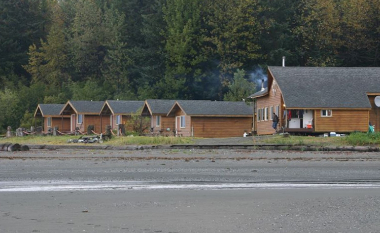 Two employees of the Icy Bay Lodge, 65 miles west of Yakutat were arrested on Assault charges by troopers and Yakutat Police on Saturday. Image 2012 Facebook photo.