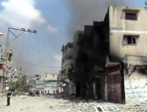 Devastation continues on the Gaza Strip