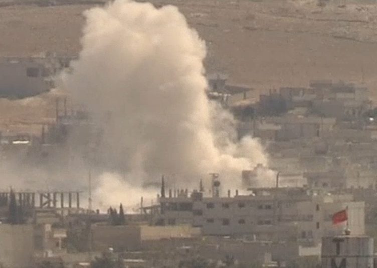 Airstrikes against Islamic State positions in Kobani continue