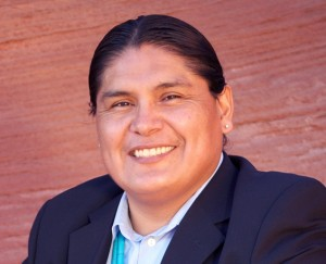 Chris Deschene, a candidate for the Navajo Nation President's seat has been diqualified over refusal to answer questions in the Navajo tongue by a Navajo court. Image-Deschene campaign