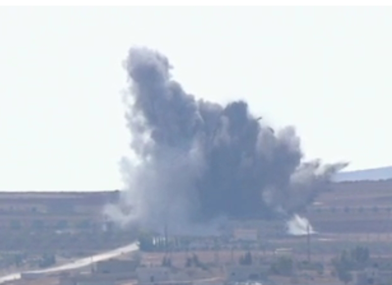 The U.S. and Saudis continue their airstrikes on the beleaguered city of Kobani.