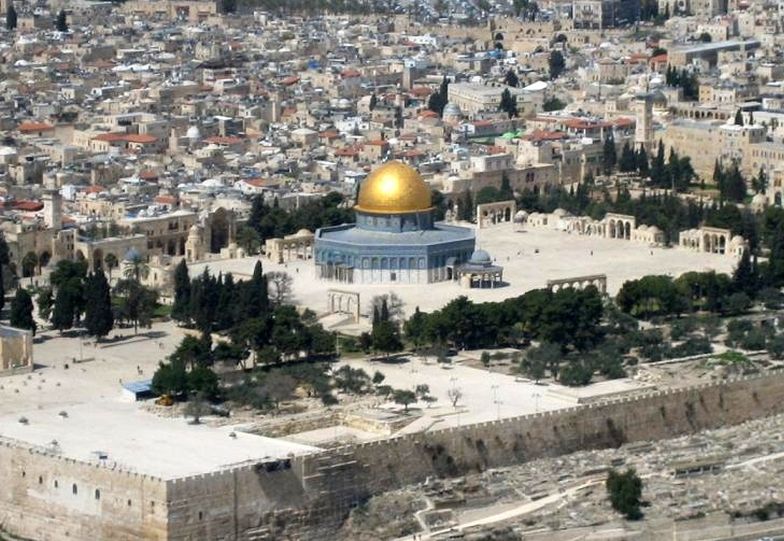 The Temple Mount was opened to Palestinians for prayers on friday despite tensions. Image-Wikipedia
