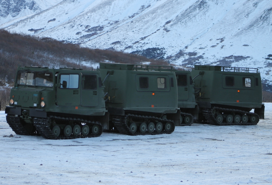 Alaska Army Guard Works to Maintain Arctic Ground Capability