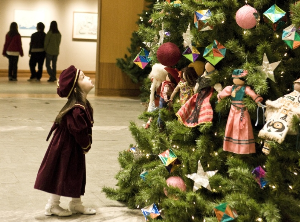 "Holiday events at the Anchorage Museum include holiday concerts, Crafts Weekend and the ""Wonderland of Toys"" exhibit. Image credit: Chris Arend Photography"