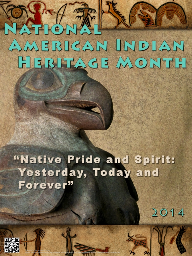 National American Indian Heritage Month poster. Image-Defense.gov