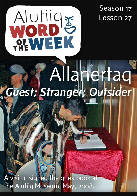 Guest-Alutiiq Word of the Week-December 28, 2014