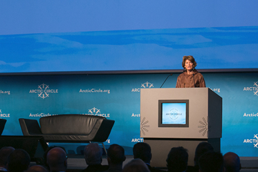Senator Murkowski addresses the Arctic Circle 2014 Conference