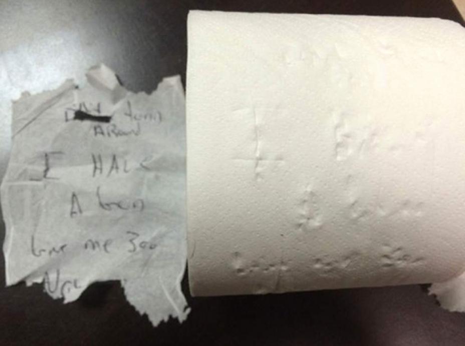 Damning evidence against Eric Frey. Image-Uniontown police