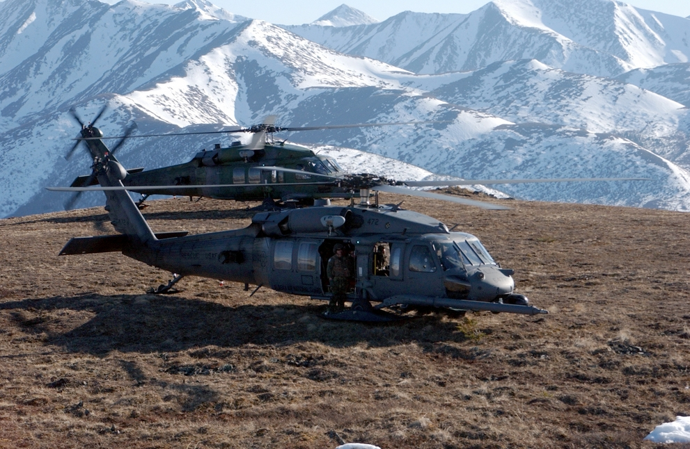 Alaska Air National Guard Personnel Deploy in Support of Operation Enduring F