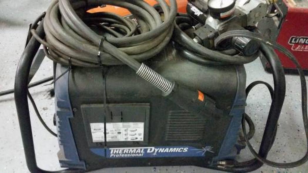 Ad image for stolen plasma cutter. Image-Craigslist