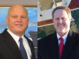 Deputy Commissioner Mike Neussl and Deputy Commissioner Steven Hatter. Image-AKDOT&PF