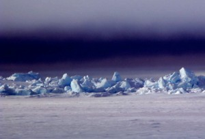 Sea ice north of Barrow. Ned Rozell