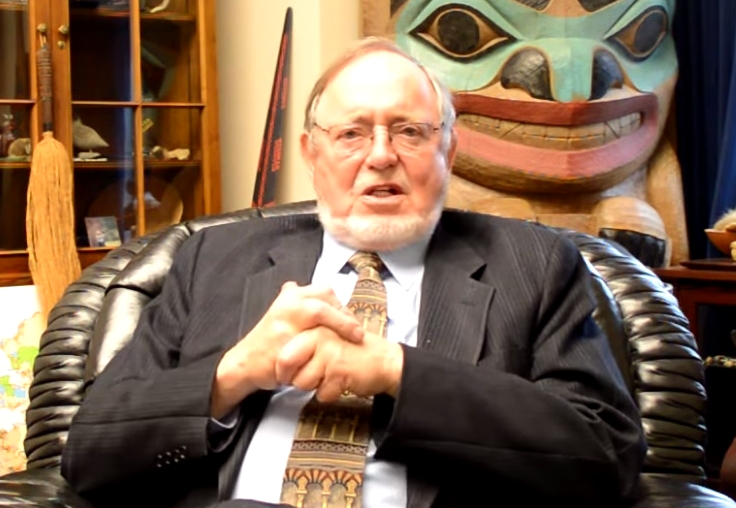 Alaska's Representative, Don Young, and his collegues sent a letter to ATF&E citing their concerns at the proposed ammunition ban. Image-Office of Don Young