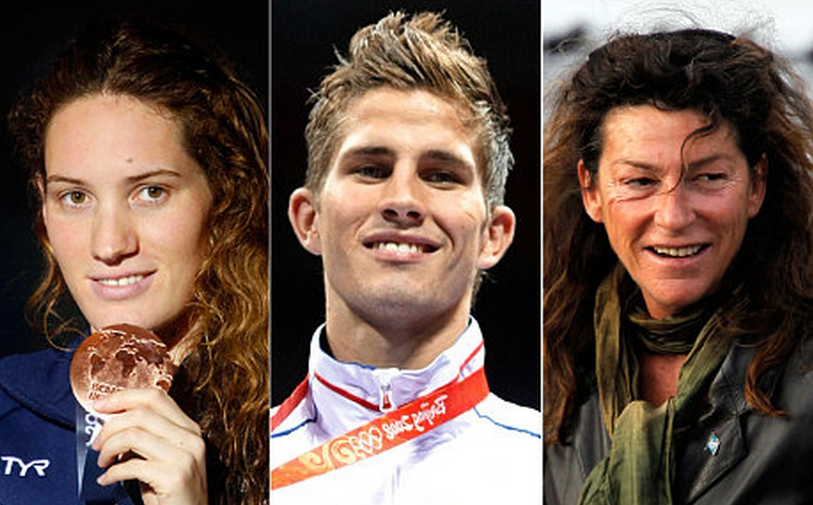 Olympic gold medallist and swimmer Camille Muffat, Olympic boxer Alexis Vastine and sailor Florence Arthaud died in the crash.
