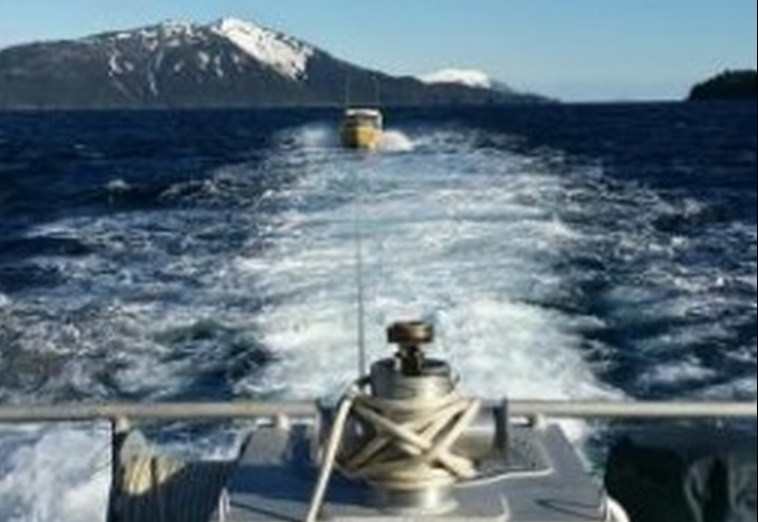 Coast Guard Takes Disabled Vessel Under Tow