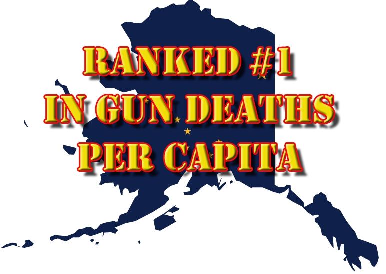 Alaska Leads the Nation with Gun Deaths Per Capita