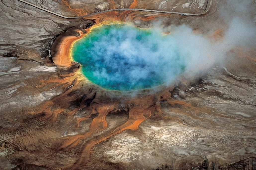 "A new University of Utah study reports discovery of a huge magma reservoir beneath Yellowstone's previously known magma chamber. Image-""Windows into the Earth,"" Robert B. Smith and Lee J. Siegel"