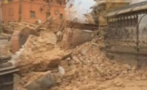 A 7.9 magnitude earthquake struck Nepal on Saturday, collapsing structures throughout the region.