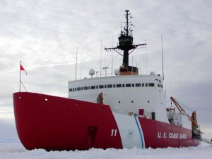 The 399-foot Polar Sea was taken off line after the discovery that five of its six engines had suffered complete failure. Image-USCG