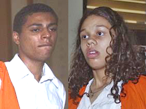 Tommy Schaefer (r) and Heather Mack (l) were convicted and sentenced in Bali for the murder of Sheila von Wiese-Mack.
