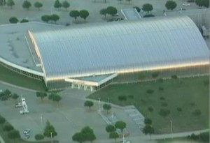 Two gunmen opened fire at an American Freedom Defense Initiative event held at the Curtis Culwell Center on Sunday.