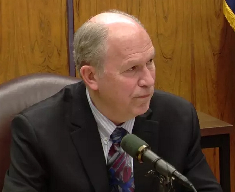 Governor Walker at his most recent video press conference.Image-State of Alaska