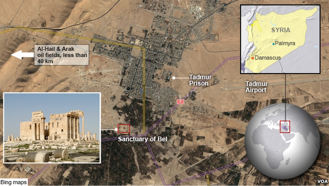 Palmyra. Image-VOA