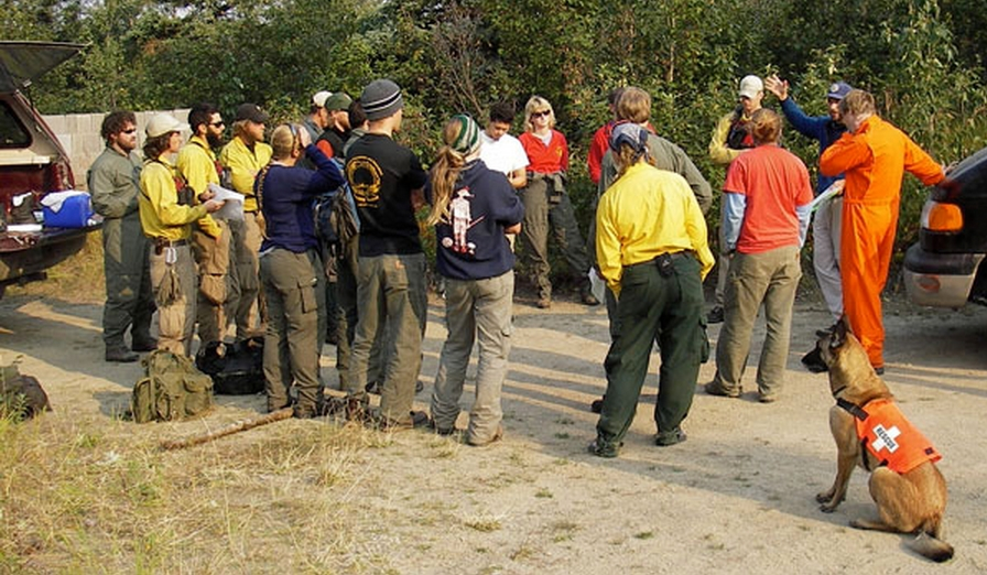 Image-Alaska Incident Management Team Search and Rescue