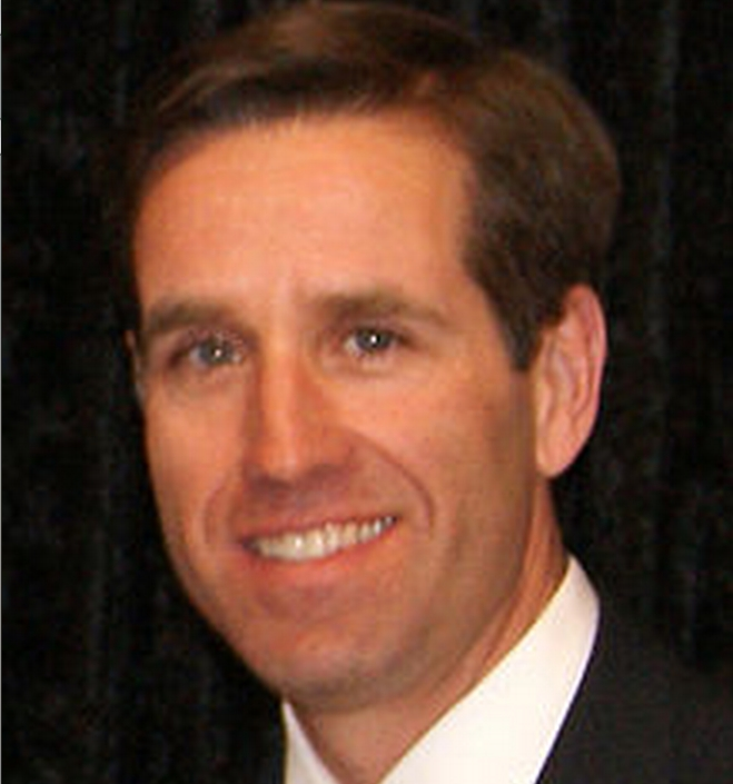 Former Deleware Attorney General and son of Vice President, Beau Biden, died of brain cancer on Saturday. Image-Doug Gansler