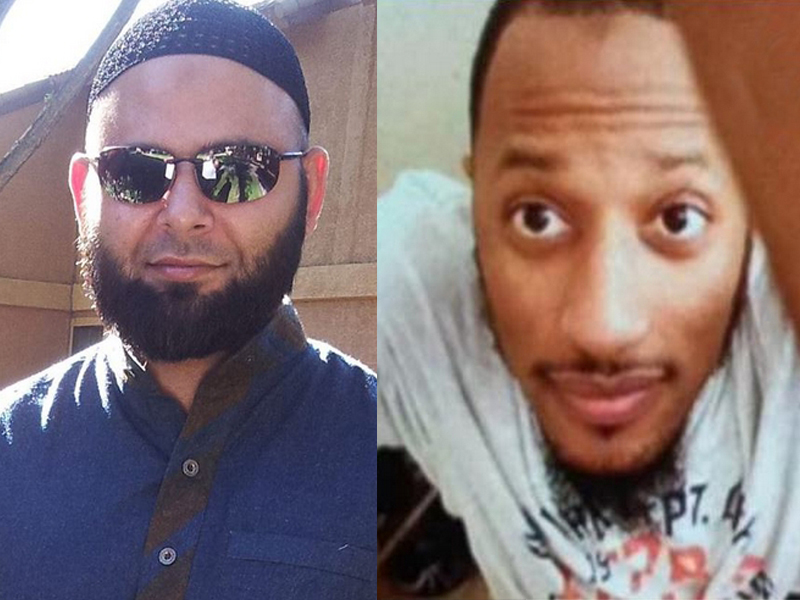 The Islamic State is claiming responsibility for the Sunday attack carried out by Nadir Soofi, left, and Elton Simpson, right.