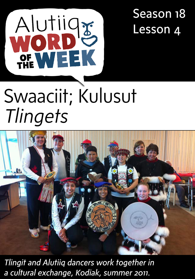 Finger-Alutiiq Word of the Week-July 5th