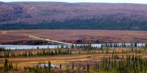 The Denali Highway crosses the Susitna River at mile 79.5, the vicinity where two campers were shot and killed during the Fourth of July holiday. Image-Beeblebrox (Wikipedia-Creative Commons)