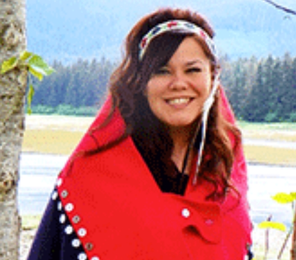 "Amelia ""Tlaagoonk"" Wilson was chosen as Sealaska Heritage Institute's Judson L. Brown Leadership Award.Image-SHI"