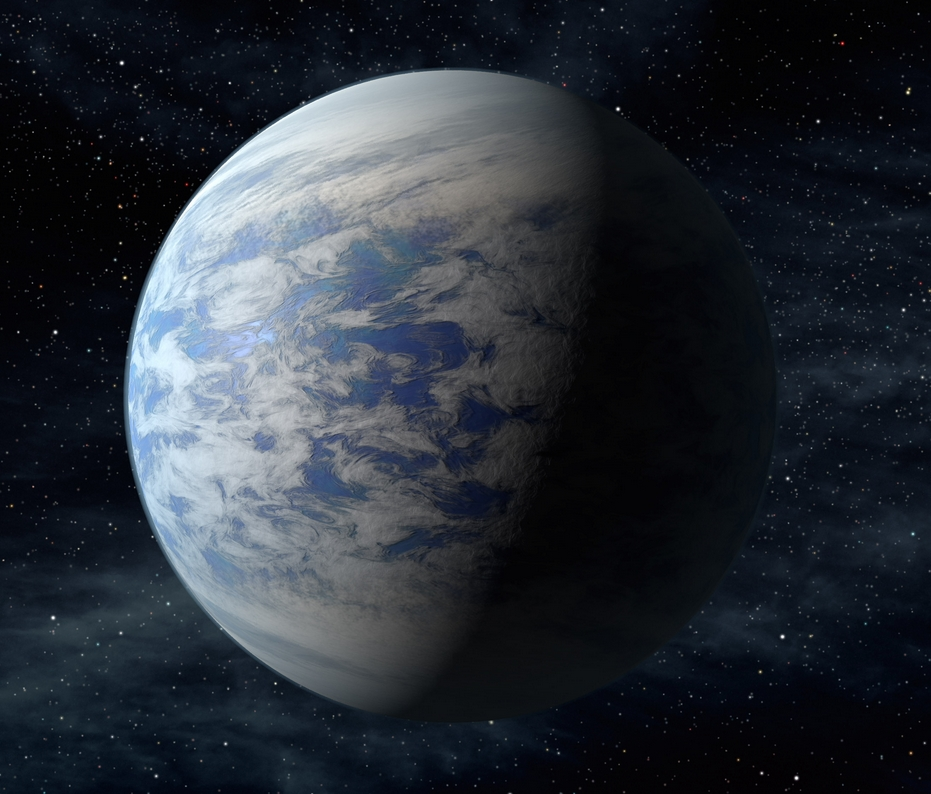 An artist's rendition of Kepler-69c, a planet approximately 70 percent larger than Earth orbiting a star approximately 2,700 light years from our solar system.NASA Ames, Jet Propulsion Laboratory, Caltech.