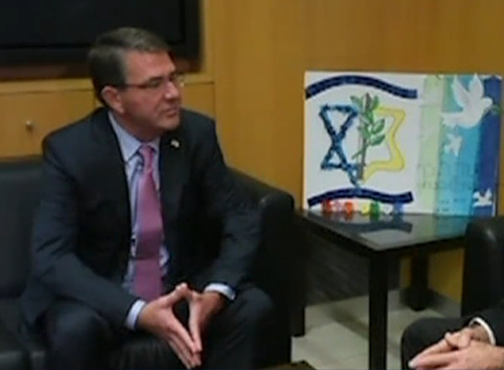 U.S. defense chief Ash Carter told Moshe Yaalon that Israel is the bedrock of American strategy.