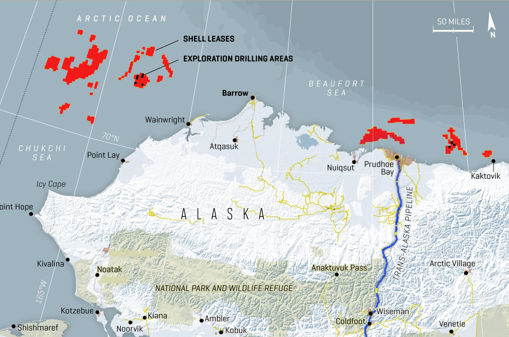 The Obama Administration has given Dutch Royal Shell the green flag for drilling off-shore of Alaska