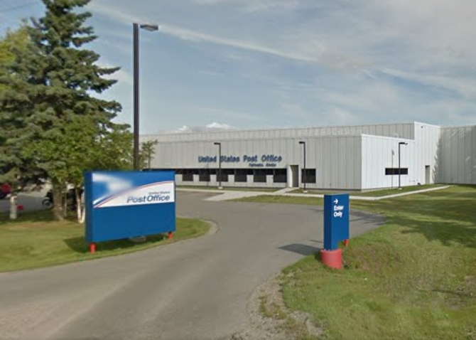 A mail clerk at the main Fairbanks post office was indicted for Mail Theft it was announced today. Image-Google Maps