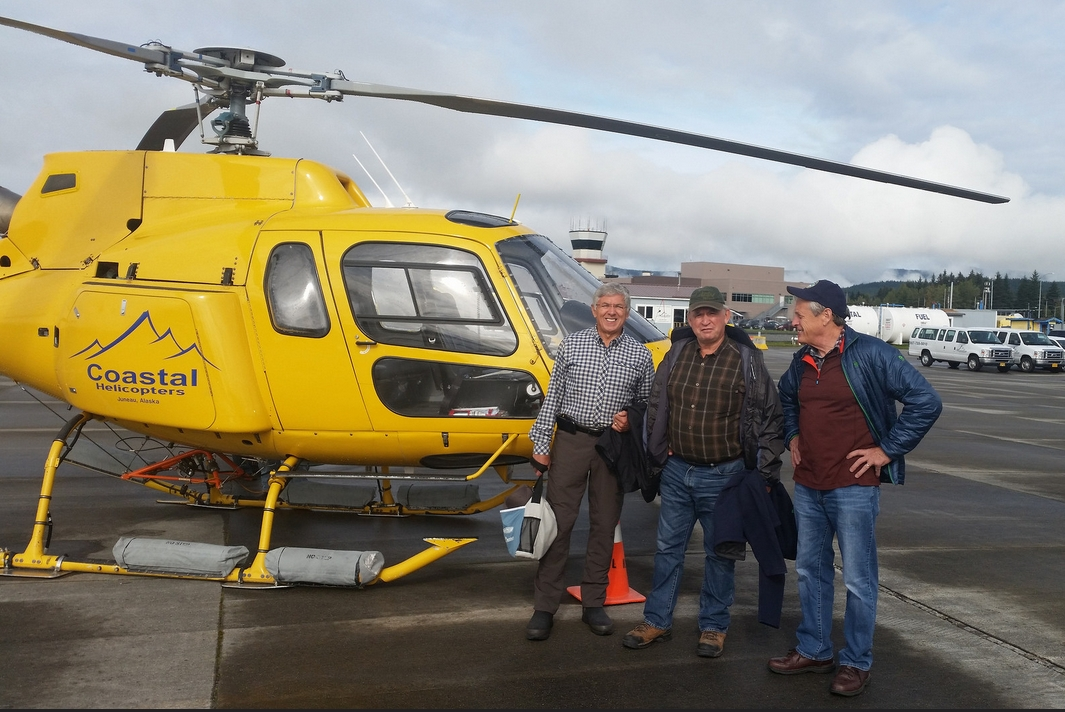 Lt Governor Mallott and Canadian Minister Bennett on their Taku River trip this week. Image-State of Alaska
