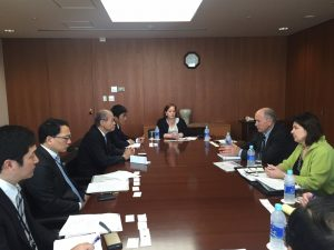 Governor Walker meeting with officials from the Marubeni Corporation. Image-State of Alaska