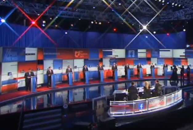 The first 2015 Republican Presidential Primary debate.
