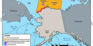 The Chukchi and Beaufort Seas off northern Alaska. Image-BOEM
