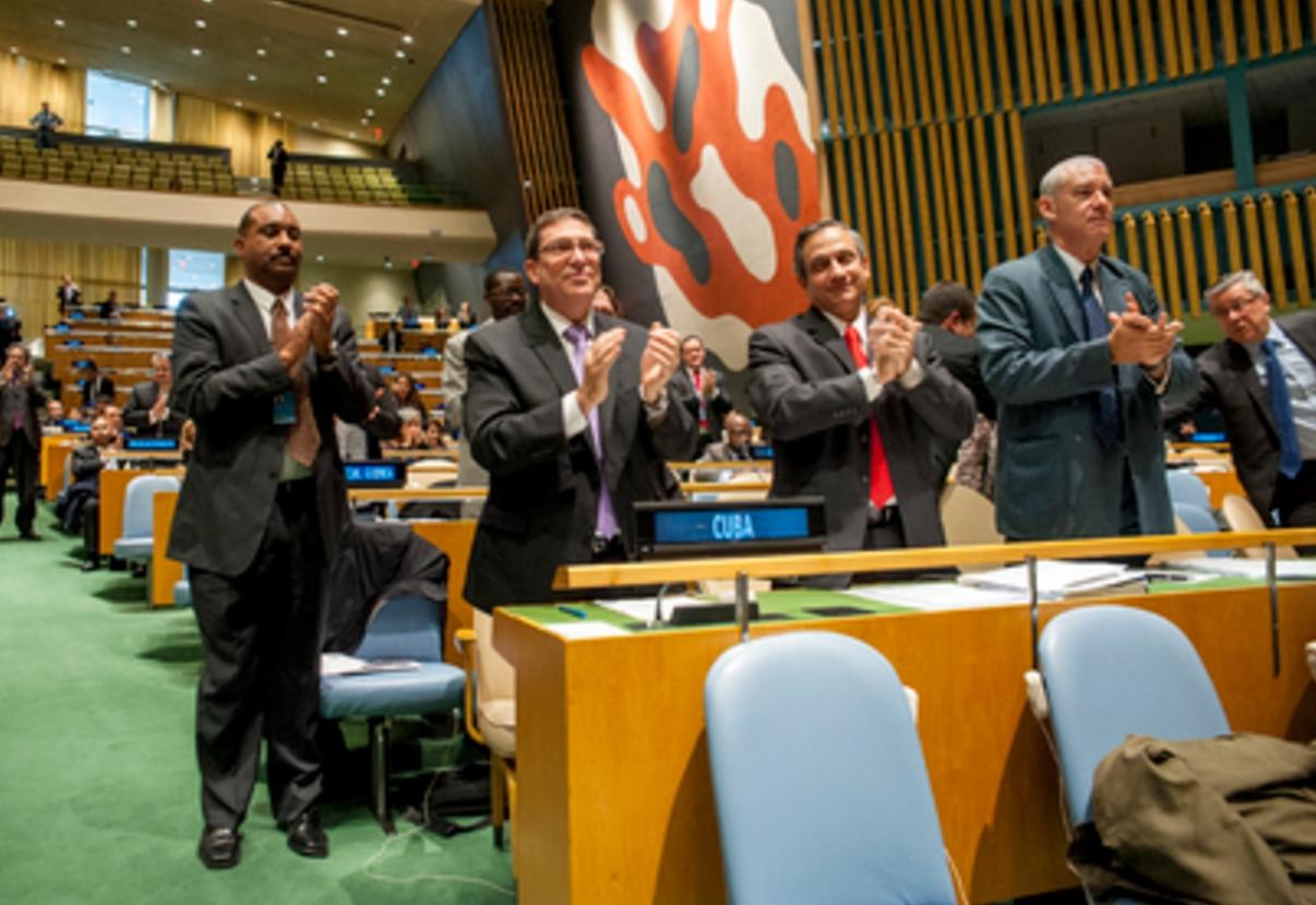UN Members Urge US to Lift Cuba Embargo