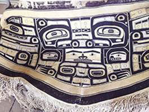 Chilkat Robe, photo courtesy of George Blucker