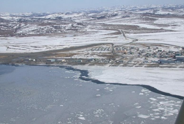 The community of Unalakleet. Image-State of Alaska