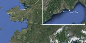 Map showing Elim to Koyuk. Image-Google Maps