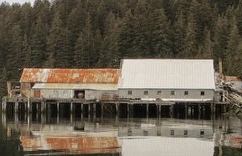 The old cannery turned lodge was the scene of the shooting of one of its caretakers in November.