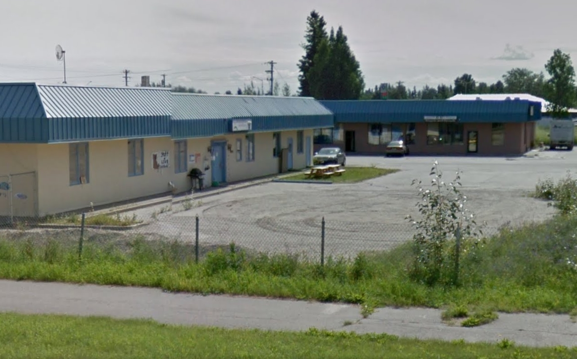 The Chena Pump Plaza in Fairbanks was the site of a robbery late Tuesday night. Image-Google Maps