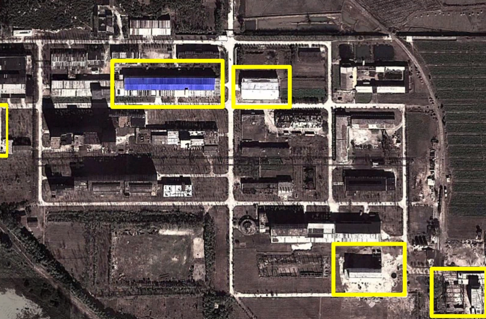 Yongbyon Uranium Enrichment Facility in North Korea. Image-Screenshot Nuclear Threat Initiative