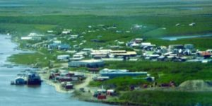 Emmonak is a community with an estimated population of 750 along the banks of the Yukon River near the Bering Sea. Image-Calista Corp.